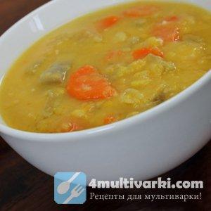 Готовим гороховый суп в мультиварке Редмонд