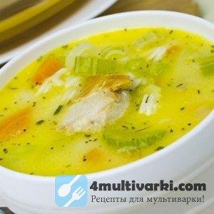 Лучший рецепт куриного супа в мультиварке