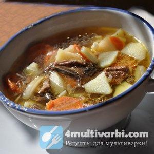Грибной суп в мультиварке: достоин праздничного стола