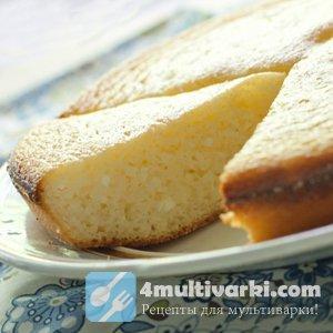 Рецепт приготовления творожного манника с яблоками в мультиварке