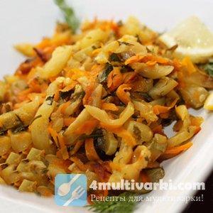 Тушеные кабачки в мультиварке – вкусное, полезное, диетическое блюдо