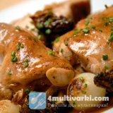 Кроличье мясо в мультиварке Филипс
