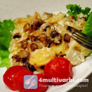 Картошка – с мясом? Картошка – с грибами и сливками!