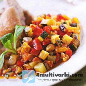Всегда вкусное овощное рагу в мультиварке Редмонд