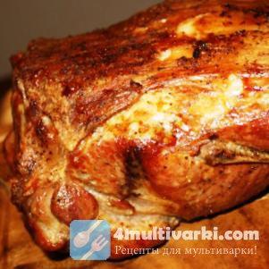 Запеченная в мультиварке свинина – праздник вкуса!