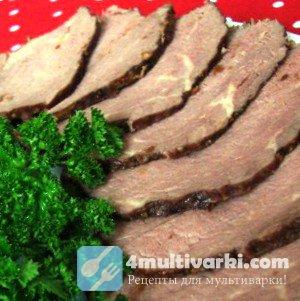 Рецепт говядины в мультиварке к праздничному столу