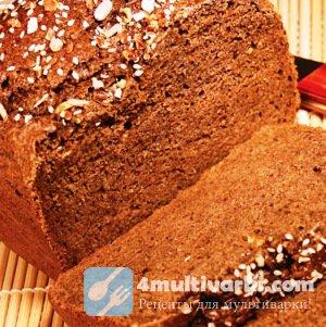 Рецепт черного хлеба в мультиварке