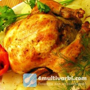 Как приготовить курицу в мультиварке Редмонд для большой семьи?