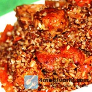 Гречка с мясом в мультиварке Панасоник: сытный вкус, восхитительный аромат