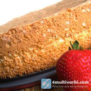 Неожиданный рецепт бисквита в мультиварке