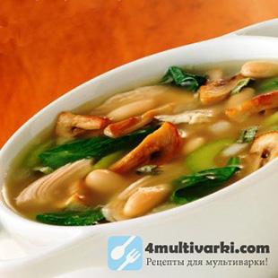 Суп из вешенок в мультиварке нравится всем!