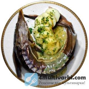 Рыба на пару в мультиварке – целиком и с картошкой!