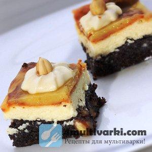Рецепт пирога с творогом в мультиварке без использования муки