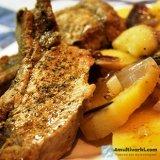 Готовим тушеную картошку с мясом в мультиварке Поларис