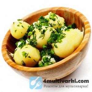 Вареная картошка в мультиварке становится лучше печеной в костре!