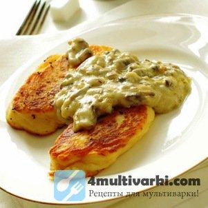 Рецепт картофельных котлет в мультиварке на завтрак