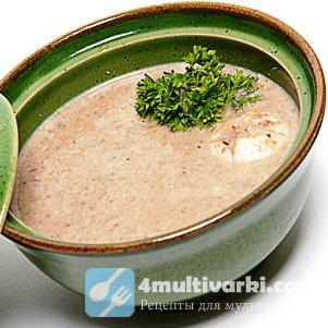 Полчаса – и грибной суп-пюре в мультиварке готов!