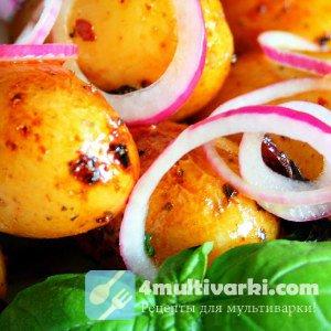 Запекаем молодой картофель в мультиварке для праздничного стола