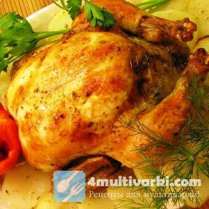 Тушеная курица с овощами в мультиварке: аппетитное и сытное блюдо для всей  ...