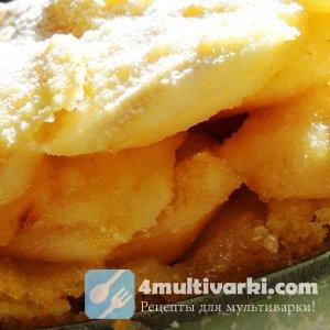 Насыпной яблочный пирог: рецепт в мультиварке посилен каждому!
