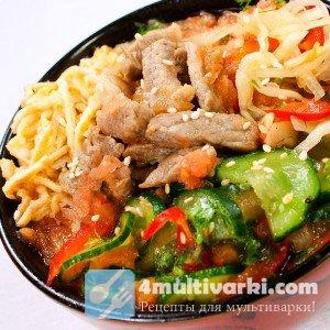 Китайский суп с лапшой в мультиварке не такой как в тарелке