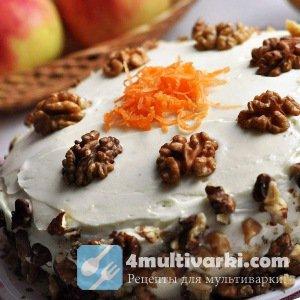 Рецепт морковного пирога в мультиварке – основа для приготовления торта