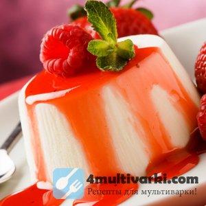 Мед, сливки и йогурт в мультиварке преобразуются в панна котту
