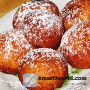 Простой рецепт творожных пончиков в мультиварке