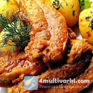 Корейский рецепт свиных ребрышек в мультиварке