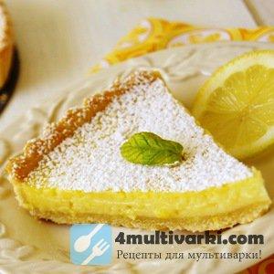 «Быстрый» рецепт лимонного пирога в мультиварке