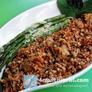 Блюдо высокой кухни: гречневая каша с фаршем в мультиварке