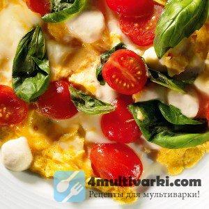 Рецепт омлета в мультиварке для завтрака в холодное утро