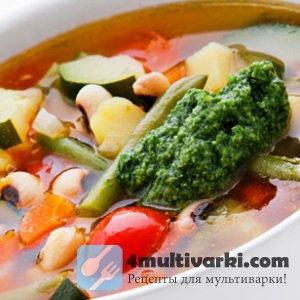 Прованский рецепт овощного супа в мультиварке