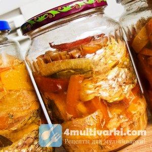Домашние рыбные консервы в масле в мультиварке