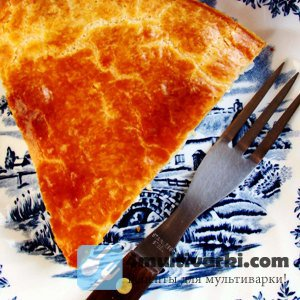 Легкий рецепт сырного пирога в мультиварке