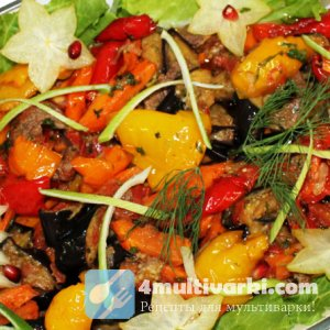 Тушеное мясо с овощами в мультиварке – элемент здорового питания