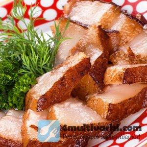 Как варить сало в мультиварке без луковой шелухи?