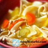 Варим куриный суп с домашней лапшой в мультиварке