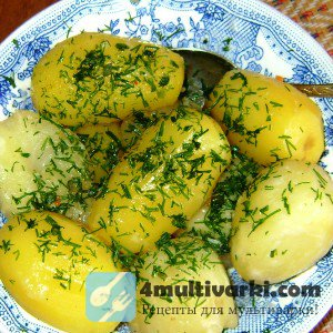 Как приготовить картошку на пару в мультиварке по-разному?