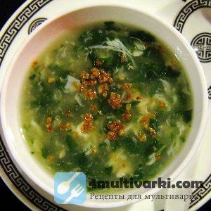 Всесезонный суп из щавеля в мультиварке