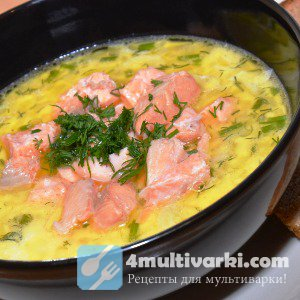 Рецепт рыбного супа в мультиварке на огуречном рассоле