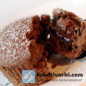 Шоколадные маффины в мультиварке – за полчаса!