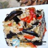 Рис с грибами в мультиварке: рецепт постного блюда