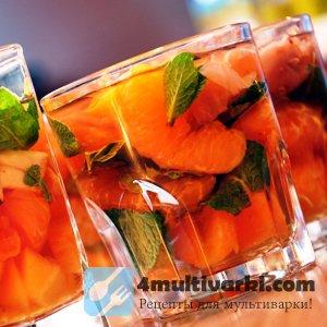 Рецепт желированных фруктов в мультиварке