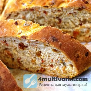 Рецепт хлеба с добавками в мультиварке