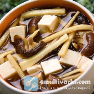 Варим суп грибной в мультиварке