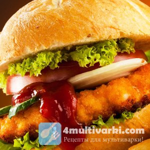 Рецепт котлет для гамбургеров в мультиварке