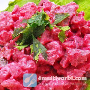 Готовим овощи в мультиварке для шведского картофельного салата