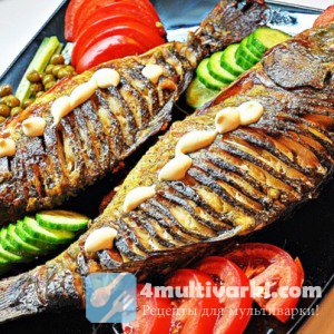 Безопасный рецепт костлявой рыбы в мультиварке