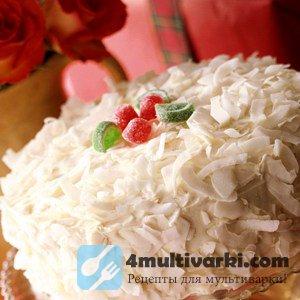 Рецепт кокосового торта в мультиварке